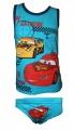 Souprava - tílko+ slipy - CARS - modrá