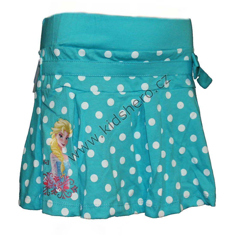 Sukně s puntíky FROZEN - modrá Disney
