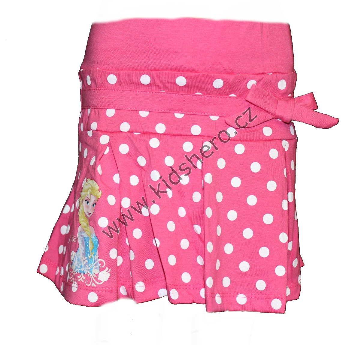 Sukně s puntíky FROZEN - růžová Disney