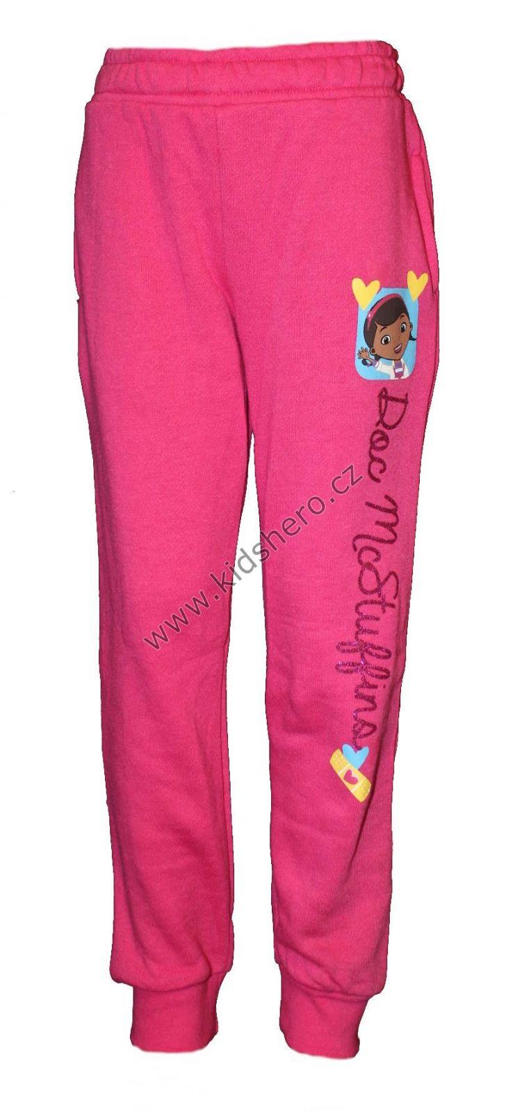 Tepláky DOC McStuffins - DOKTORKA PLYŠÁKOVÁ - růžové Disney
