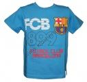 Triko krátký rukáv FC BARCELONA - modré 2