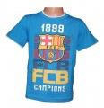 Triko krátký rukáv FC BARCELONA - modré
