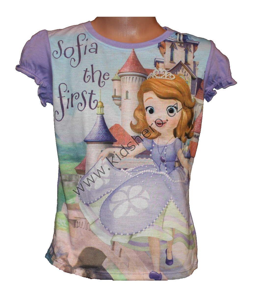 Triko krátký rukáv SOFIA Disney