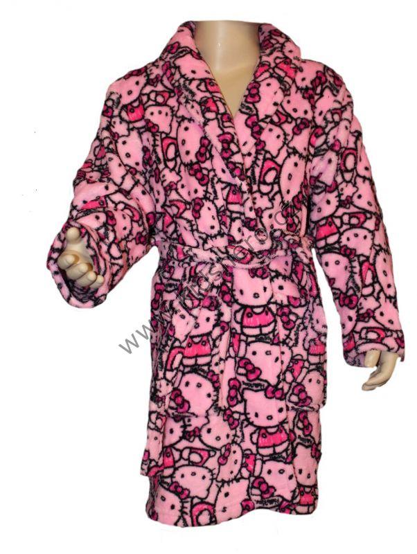 Župan HELLO KITTY - růžový Sanrio