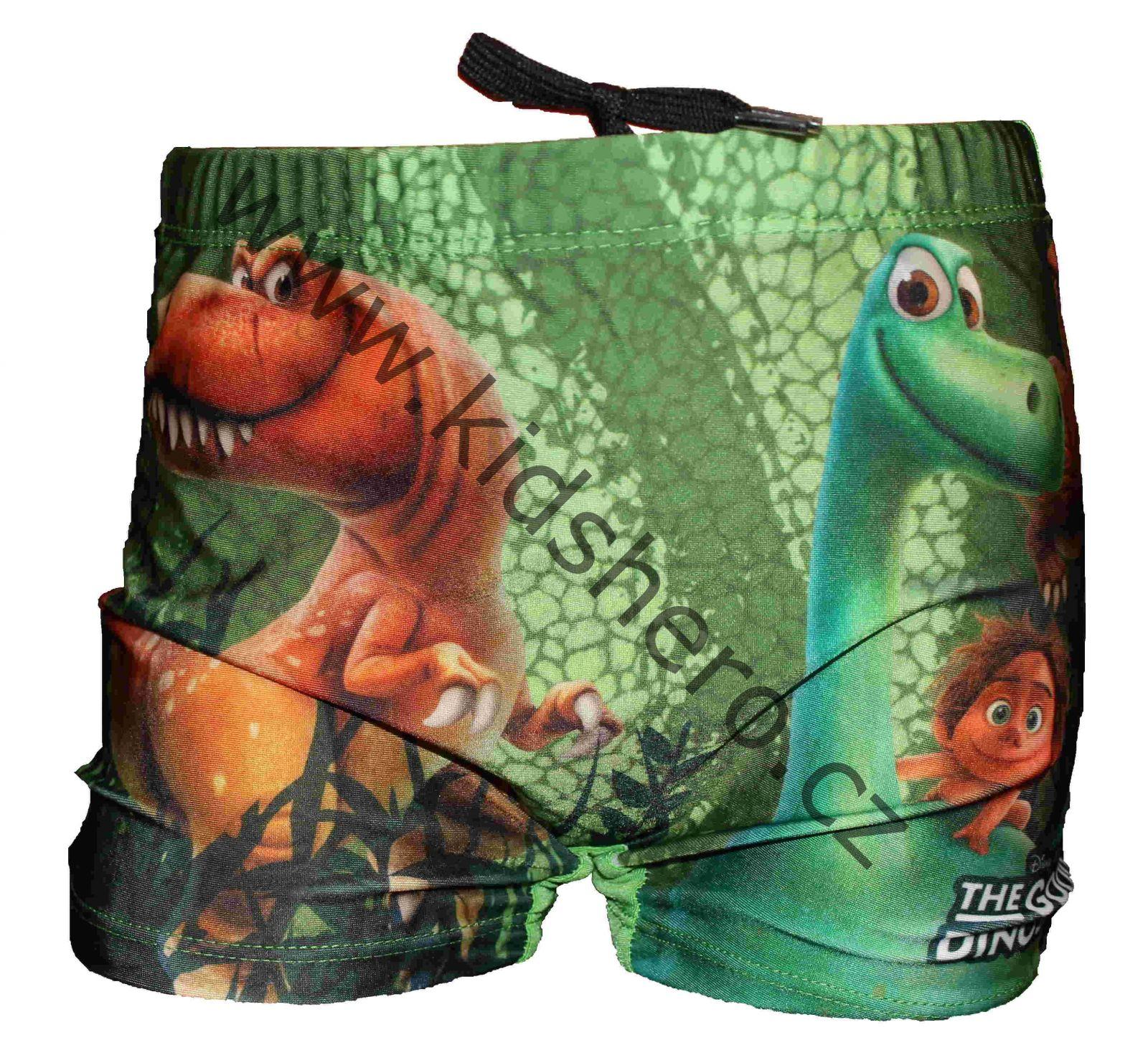 Dětské plavky DINOSAUR, licenční nohavičkové plavky mimoni Despicable Me