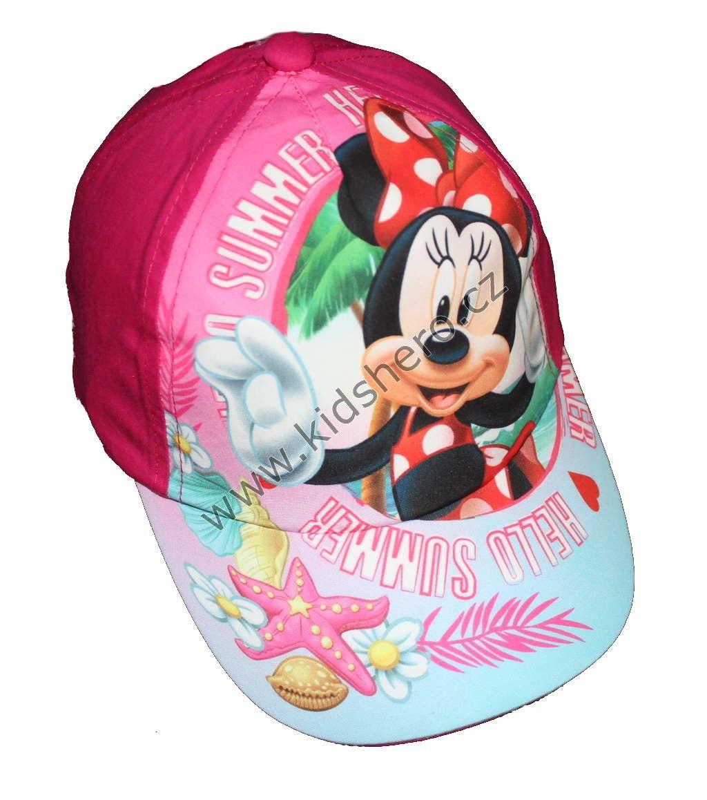 Dětská kšiltovka MINNIE dívčí licenční kšiltovka čepice Disney