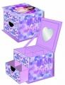Dětská šperkovnice VIOLETTA - fialová