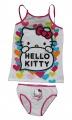 Souprava - tílko+ kalhotky - HELLO KITTY - bílá