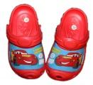 Zobrazit detail - Dětské boty- sandály-pantofle - CARS-červené