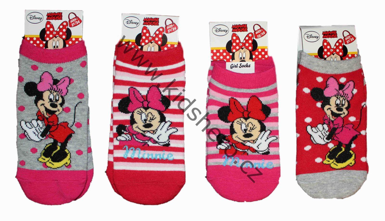 Dětské kotníkové ponožky MINNIE DISNEY