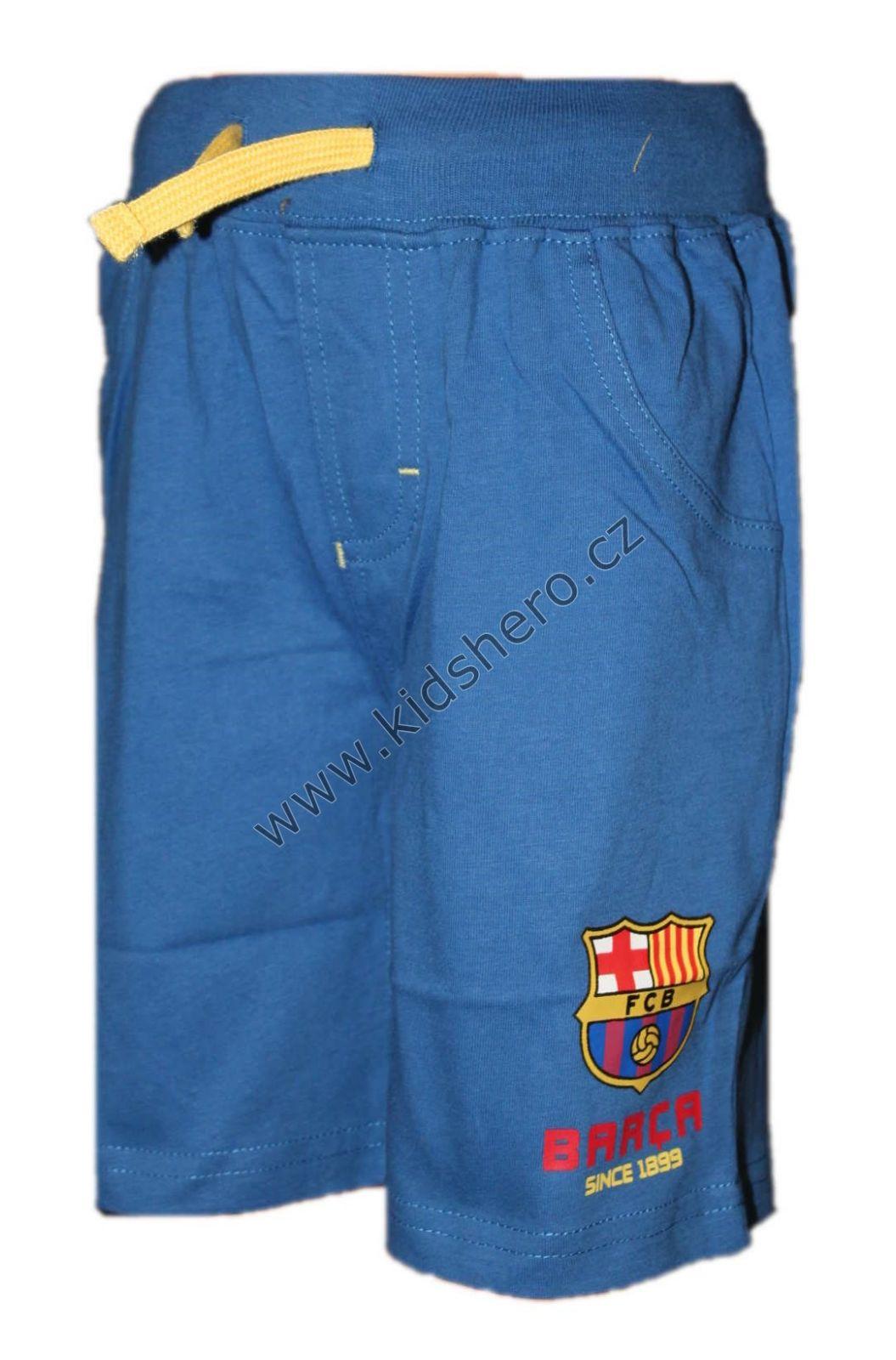 Dětské kraťasy FC BARCELONA chlapecké licenční šortky