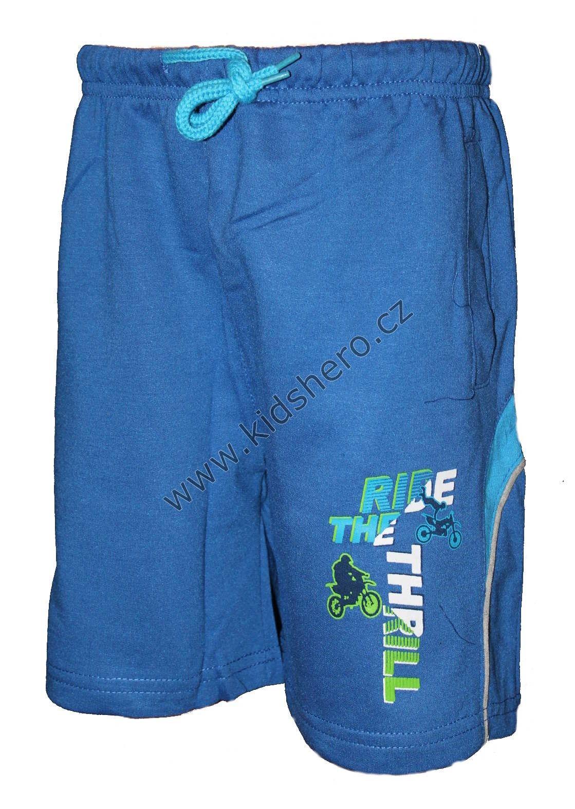 Dětské kraťasy KUGO chlapecké bavlněné šortky