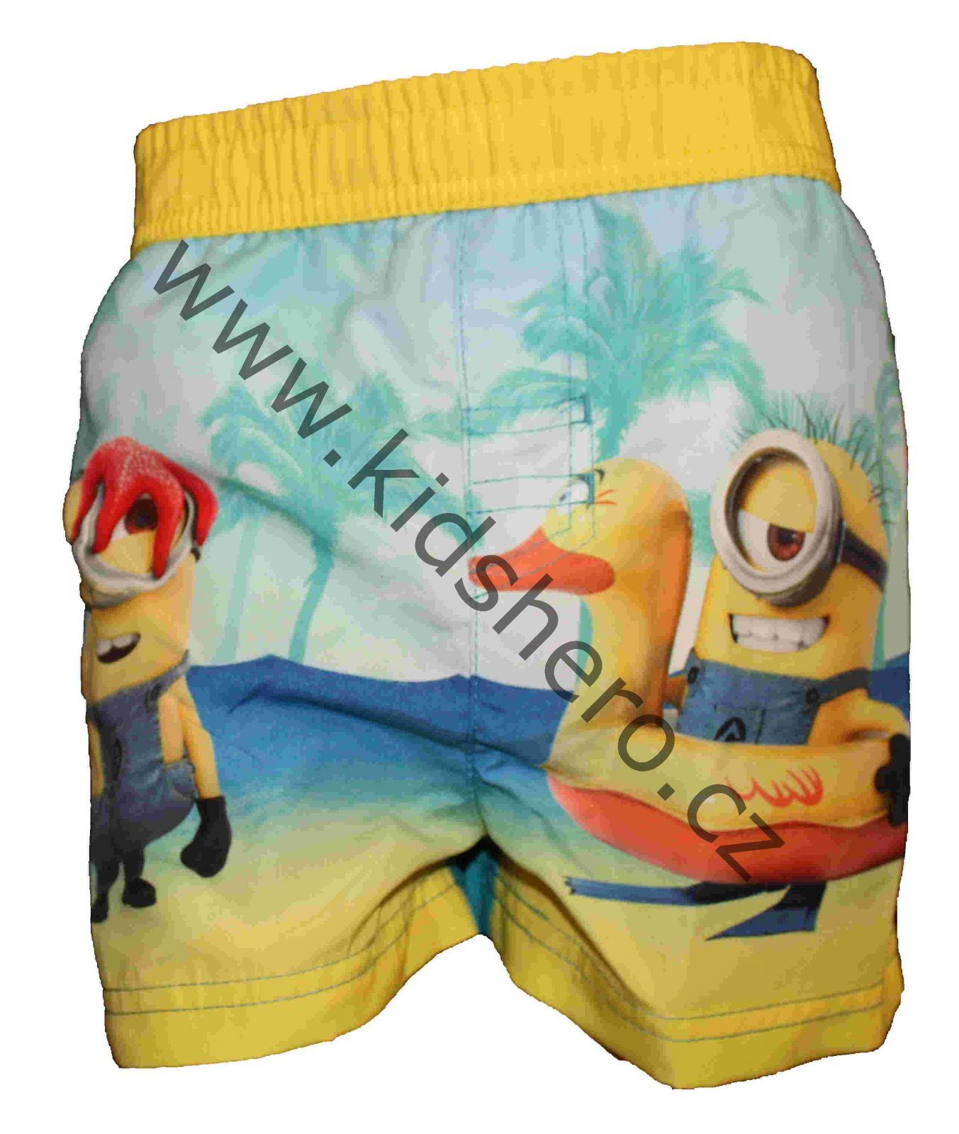 Dětské kraťasy Mimoni, licenční šortky mimoni Despicable Me