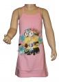 Letní šaty MIMONI - sv.růžové