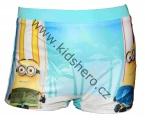 Zobrazit detail - Plavky - boxerky MIMONI - modro-bílé