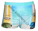 Plavky - boxerky MIMONI - modro-bílé