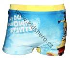 Plavky - boxerky MIMONI - modro-žluté
