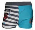 Plavky STAR WARS boxerky pruhy - tyrkysovo-šedé