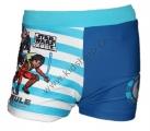 Plavky STAR WARS boxerky pruhy - modré