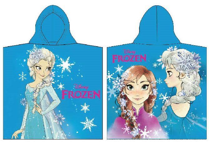 Dětské pončo Frozen, licenční dívčí osuška Disney
