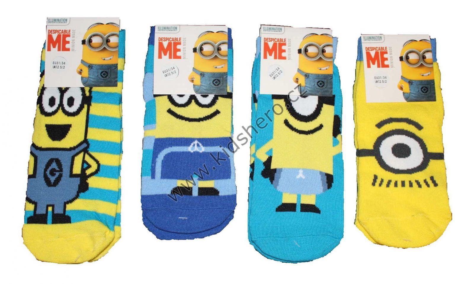 Dětské ponožky Mimoni chlapecké dívčí Despicable Me