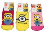 Kotníkové ponožky MIMONI - dívčí 1 pár