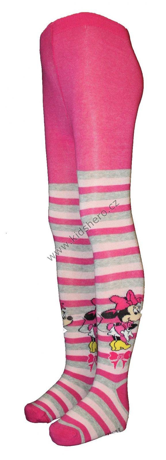 Dětské punčocháče MINNIE punčochy disney dívčí licenční oblečení