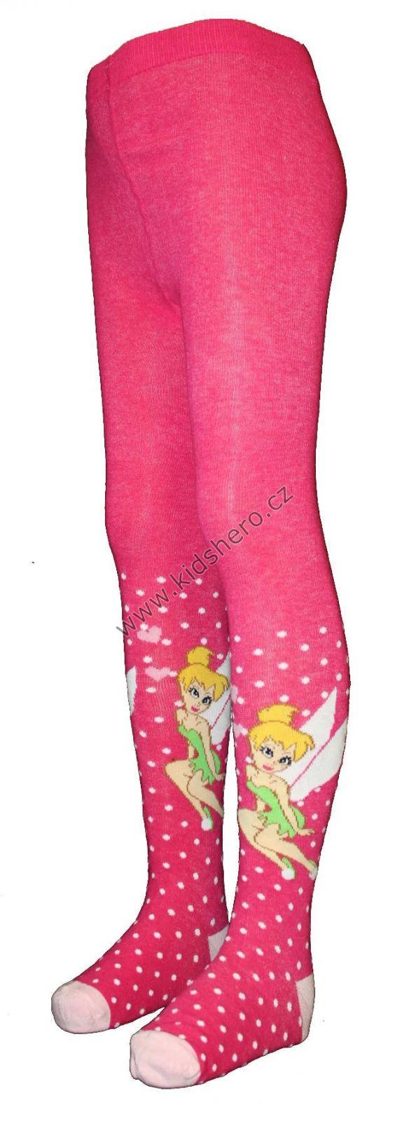 Dětské punčocháče ZVONILKA punčochy disney dívčí licenční oblečení