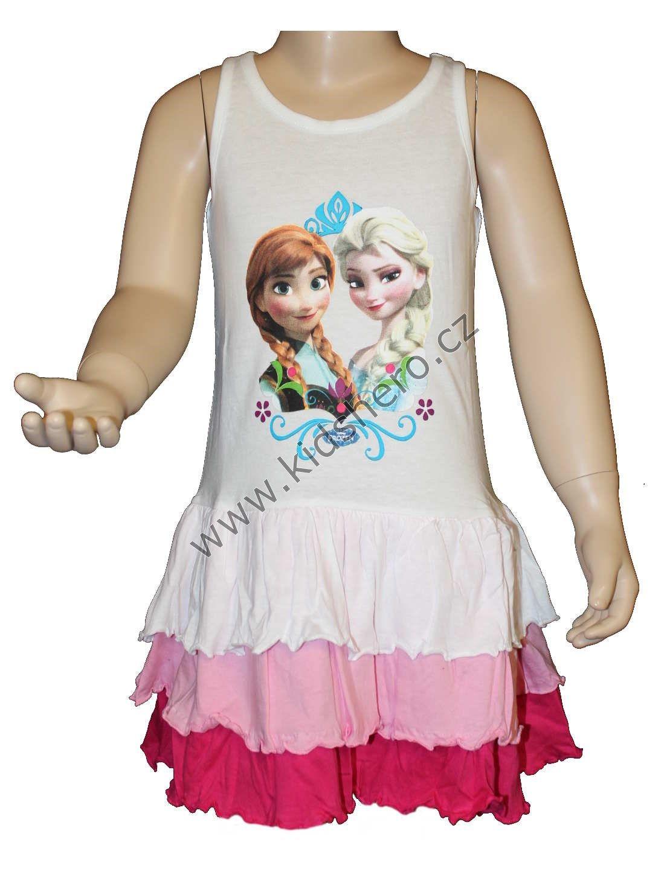 Dětské šaty Frozen Disney