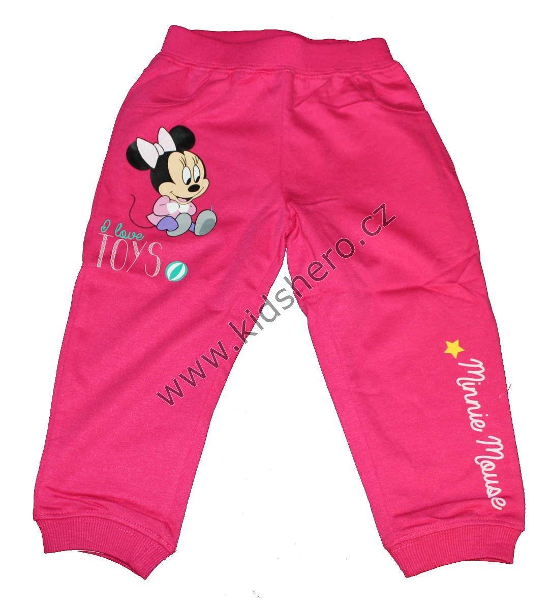 Dětské tepláky MINNIE dívčí licenční tepláky Disney