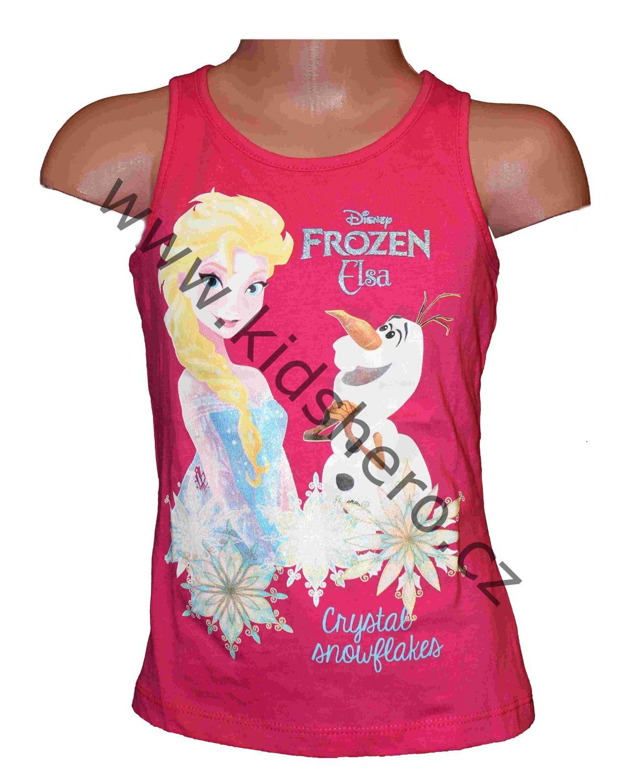 Dětské tílko Frozen dívčí licenční tílko Disney