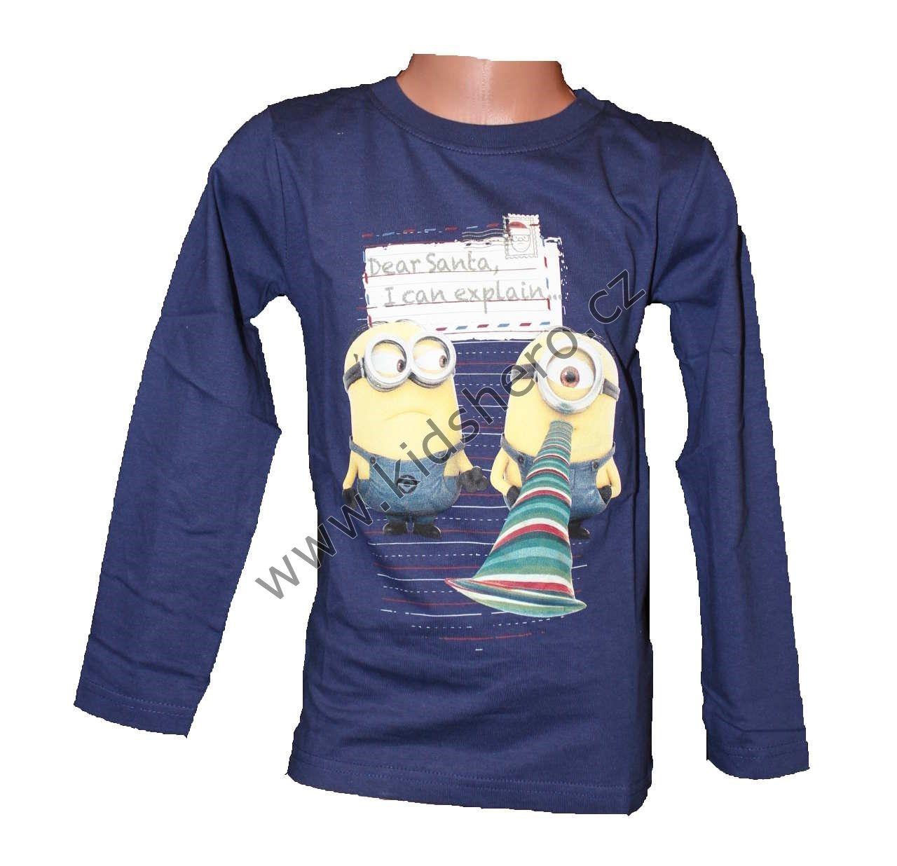 Dětské triko MIMONI tričko minion chlapecké licenční Despicable Me