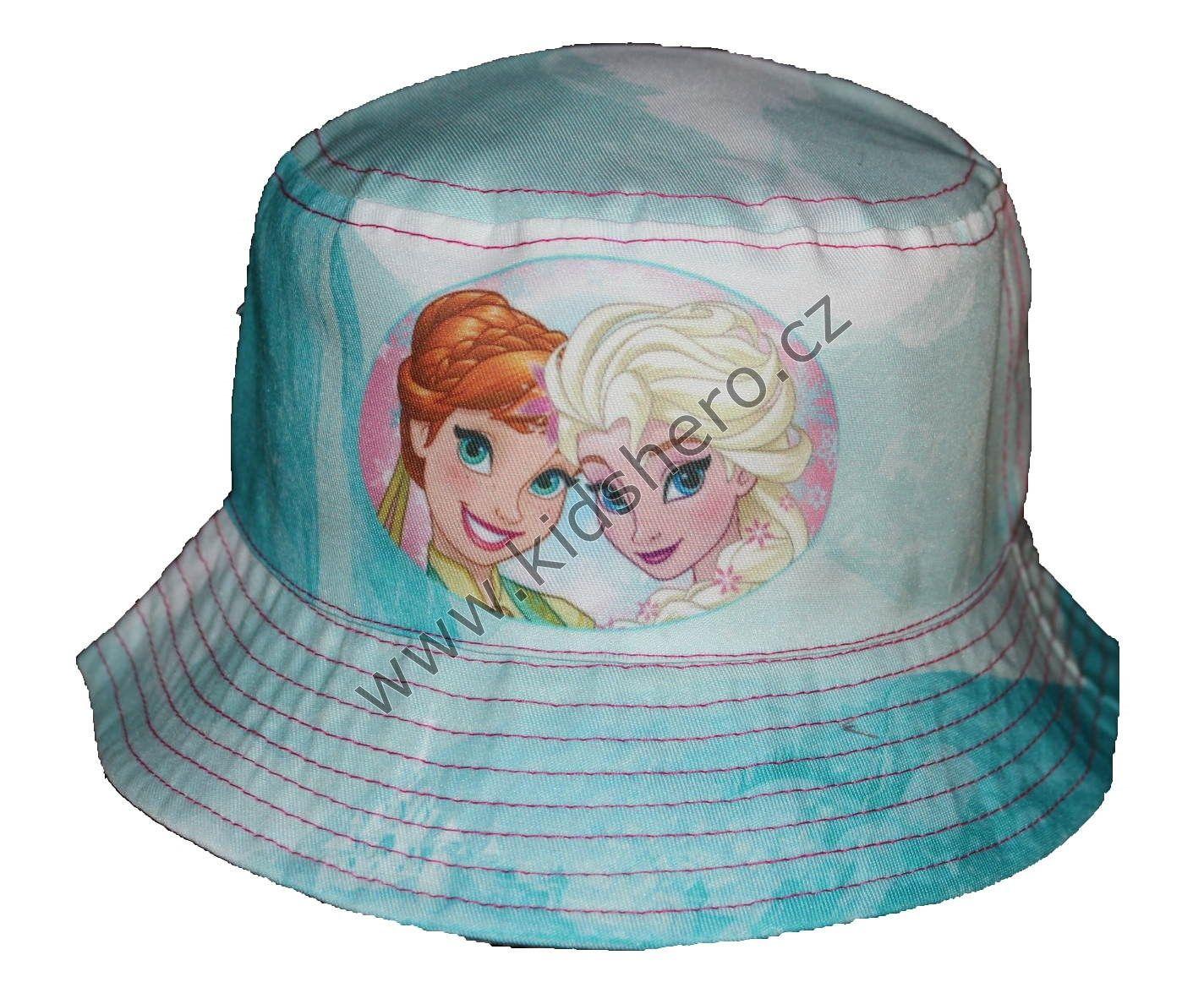 Dětský klobouk FROZEN klobouček dívčí licenční Disney