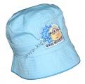 Klobouk MIMONI - sv.modrý