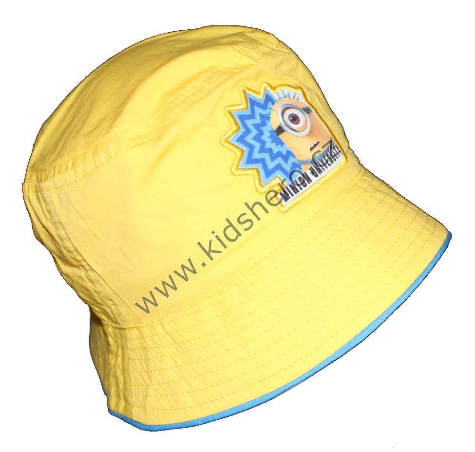 Dětský klobouk MIMONI klobouček MIMOŇ Despicable Me