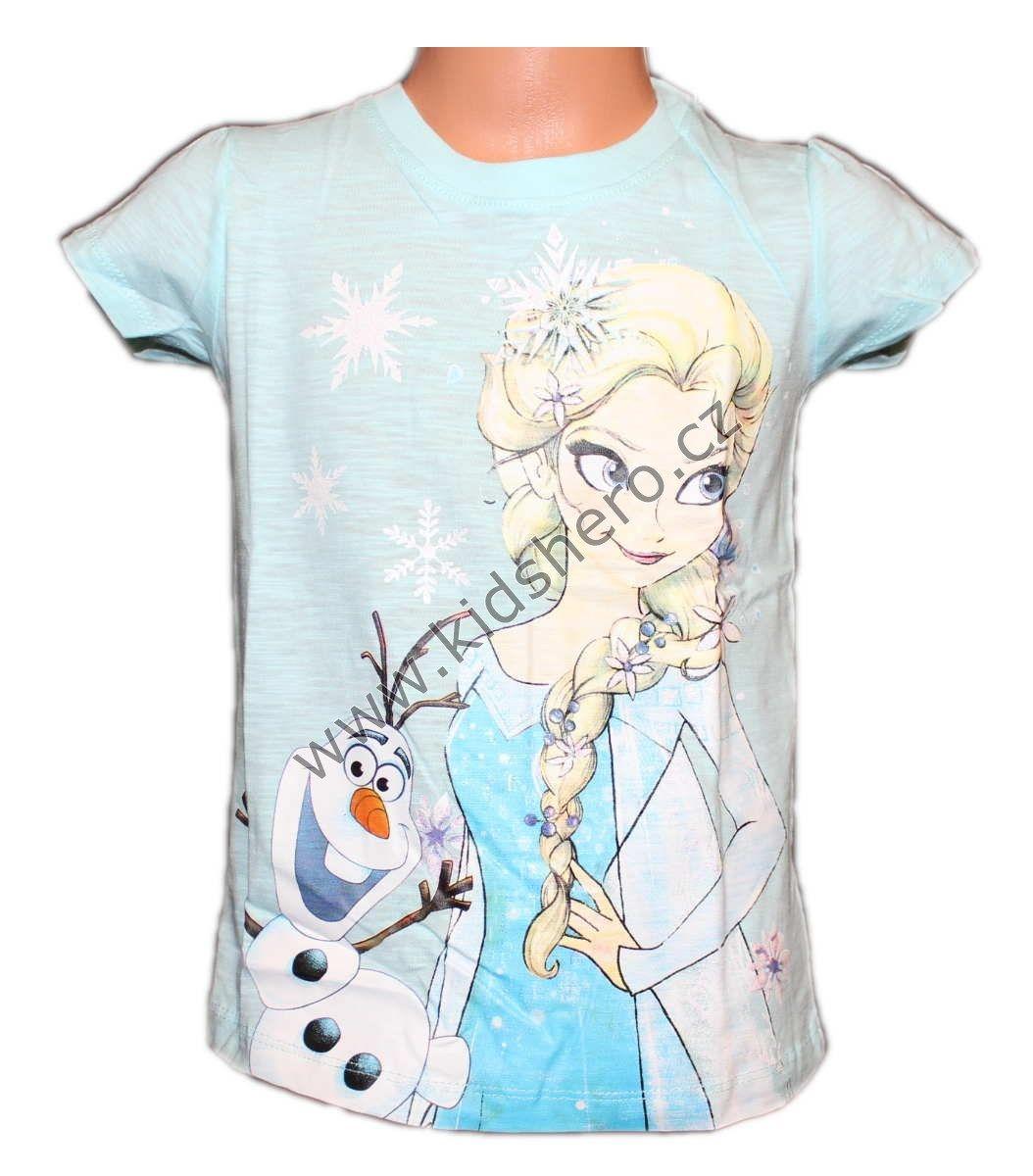 Triko krátký rukáv, tunika FROZEN dívčí licenční Disney
