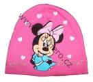 Zobrazit detail - Bavlněná čepice Minnie - sv.růžová