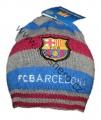 Čepice FC Barcelona - šedo-modro-červená
