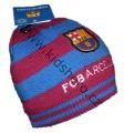 Čepice FC Barcelona - modro-červená