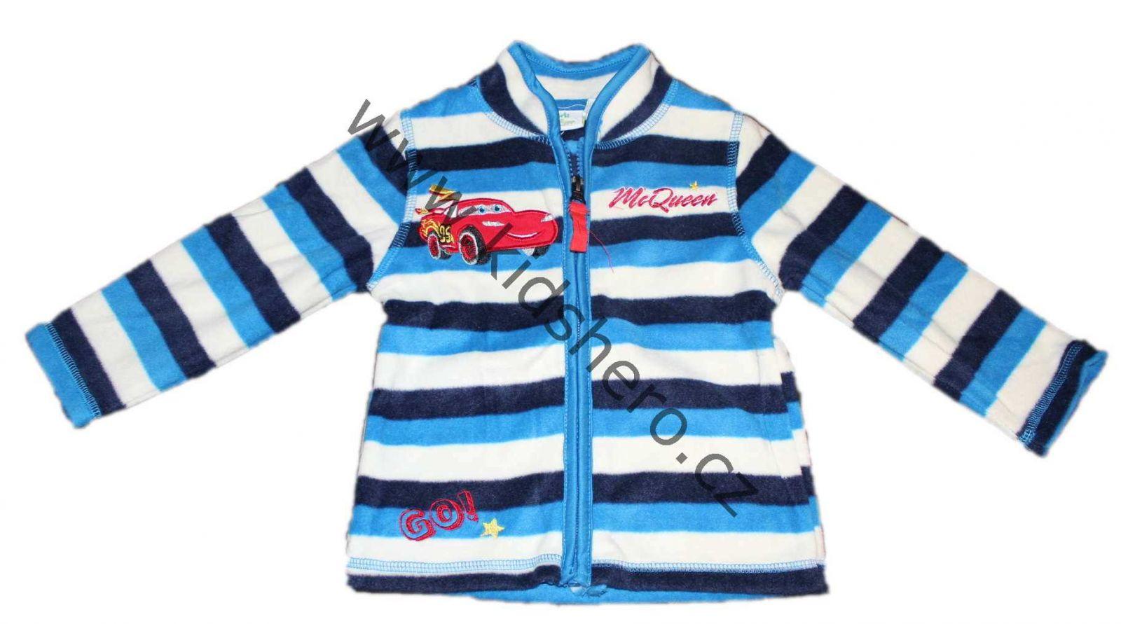 Dětská mikina CARS chlapecká liceční Disney