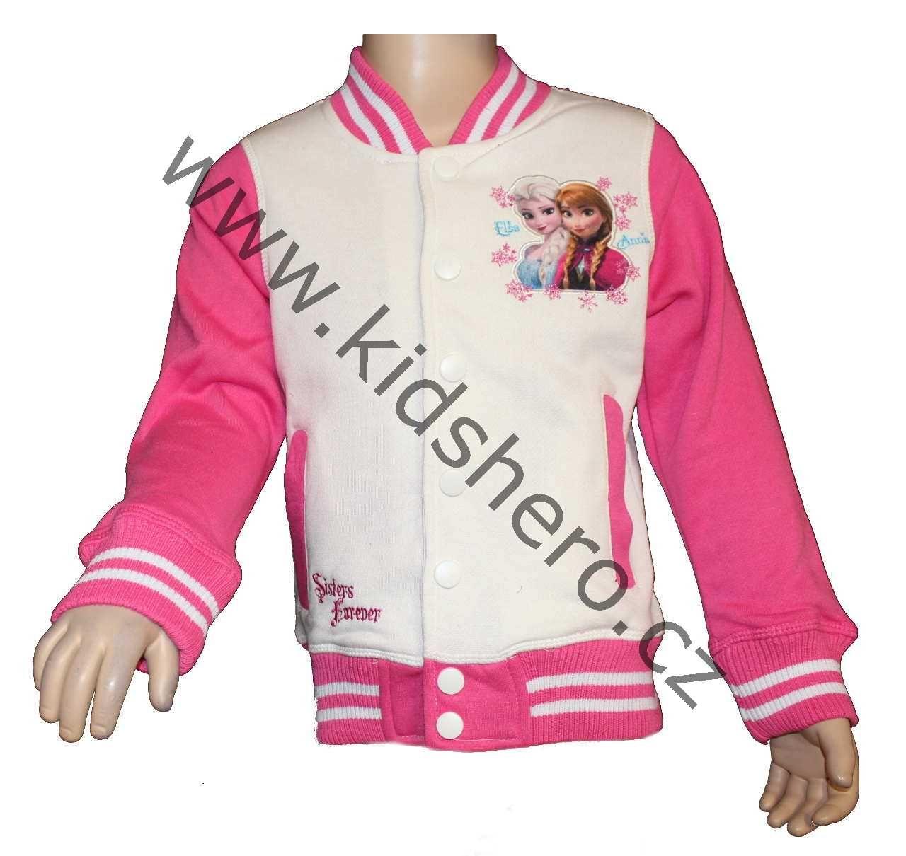 Dětská mikina FROZEN licenční dívčí mikina Disney
