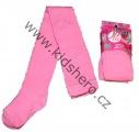 Bavlněné punčocháče JUST PLAY - sv.růžové