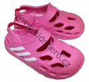 Dětské boty- sandály-pantofle orig. - ADIDAS - růžové