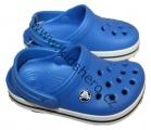 Zobrazit detail - Dětské boty- sandály-pantofle orig. - CROCS-modré