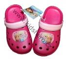 Dětské boty- sandály-pantofle - FROZEN - tm.růžové