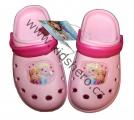 Dětské boty- sandály-pantofle - FROZEN - sv.růžové
