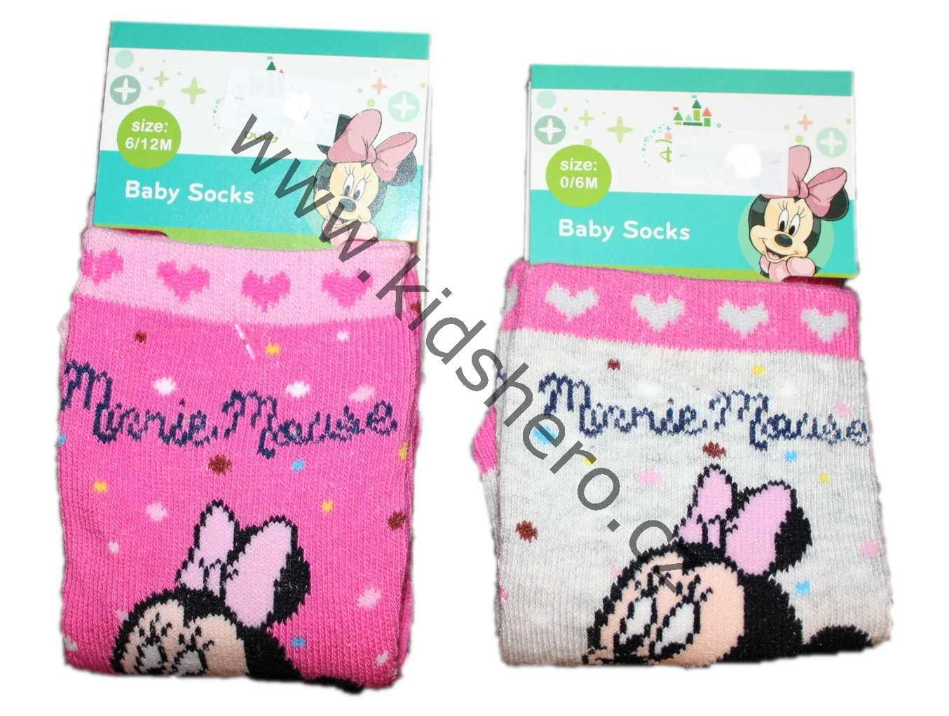 Dětské kojenecké ponožky MINNIE DISNEY