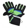 Zobrazit detail - Lyžařské rukavice YDI - černo-zeleno-modré