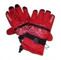 Lyžařské rukavice YDI - červené