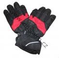 Lyžařské rukavice YDI - černo-červené
